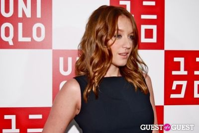 ludivine sagnier in UNIQLO Global Flagship Opening