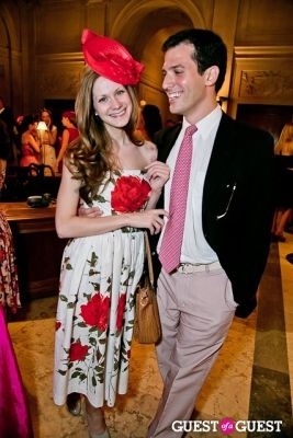 lydia harrison in The Frick Collection Garden Party