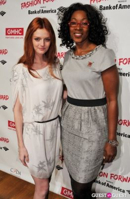 lydia hearst in Fashion Forward hosted by GMHC