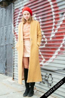 mackenzie leigh in NYFW Street Style Day 3