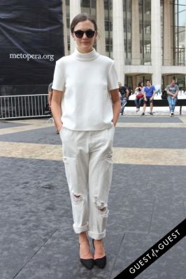 madelynn furlong in NYFW Style From the Tents: Street Style Day 3