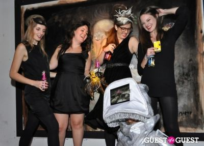 jessica shaefer in Creative Time Fall Fundraiser: Flaming Youth - Masquerade Tribute to the Chelsea Arts Ball