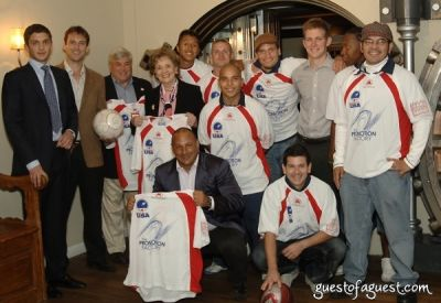 maggio cipriani in USA Homeless Soccer Team Jersey Presentation at Cipriani Wall Street