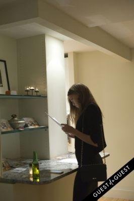 maiken abma in Matthew Moskowitz Pop Up Art Reception