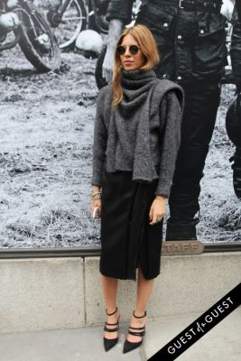 maja wyh in NYFW Style From the Tents: Street Style Day 6