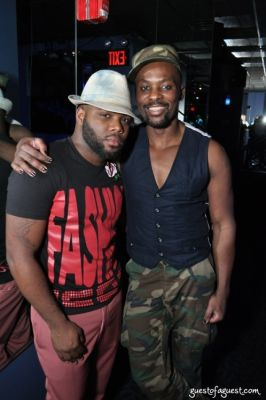 malcolm harris in UNVOGUE's Navy Issue Launch Party