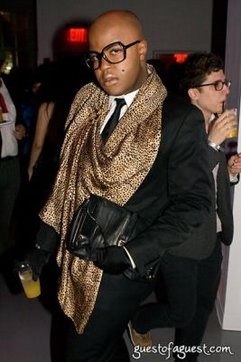 malik so-chic in Life Ball NY Preview Party