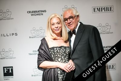 sergio millerman in Brazil Foundation XII Gala Benefit Dinner NY 2014
