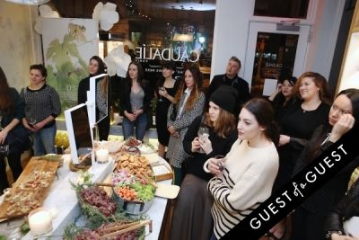 mara hoffman in Caudalie Premier Cru Evening with EyeSwoon