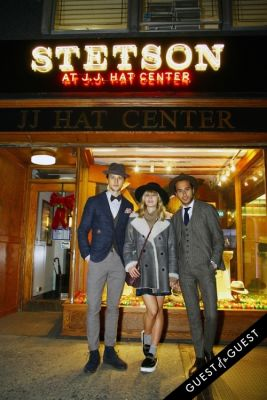 marcel floruss-;-lisa-dengler-;-moti-ankari in Stetson and JJ Hat Center Celebrate Old New York with Just Another, One Dapper Street, and The Metro Man