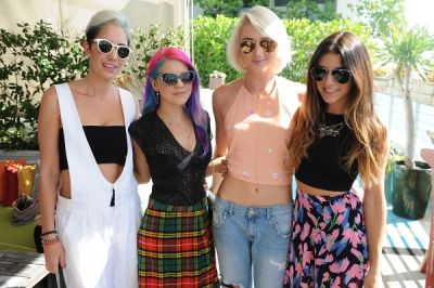 marcella novela-aileen-quintana in ShopBAZAAR VIP Brunch at Soho Beach House