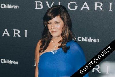 marcia gay-harden in BVLGARI Partners With Save The Children To Launch