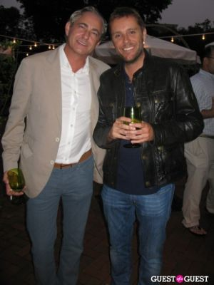 stephan wuerth in Hamptons Magazine's Christie Brinkley Issue Release Celebration