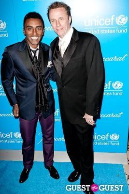 marcus samuelson in The 8th Annual UNICEF Snowflake Ball