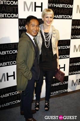 marcus teo in MYHABIT and CFDA Incubators Take Fashion by Storm