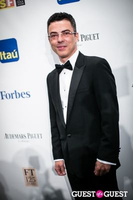marcus vinicius-ribeiro in Brazil Foundation Gala at MoMa