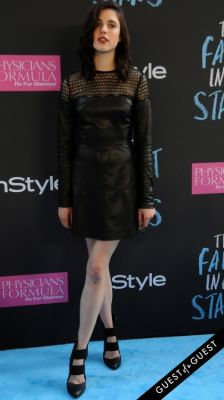 margaret qualley in The Fault In Our Stars Premiere
