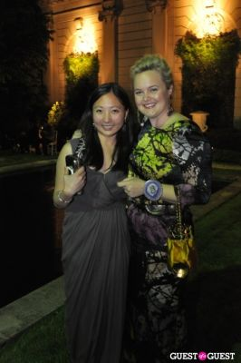 megan dempsey in Frick Collection Spring Party for Fellows