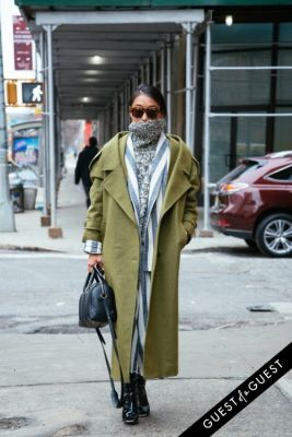 margaret zhang in NYFW Street Style Day 3