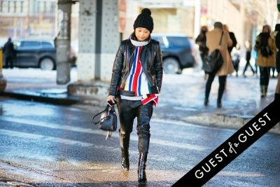 margaret zhang in NYFW Street Style Day 6