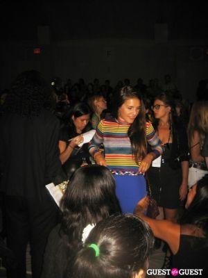 margherita missoni in NYFW: Charlotte Ronson Spring 2012