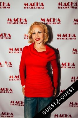 margo alison in The Opening Night of Garbo's Cuban Lover