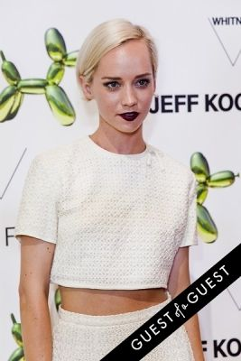 margot in Jeff Koons for H&M Launch Party