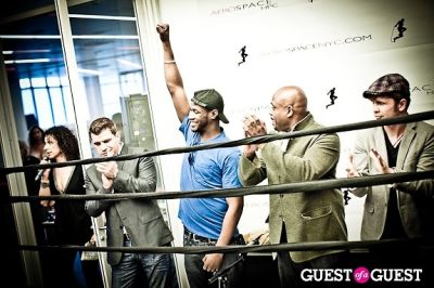tom murro in Celebrity Fight4Fitness Event at Aerospace Fitness