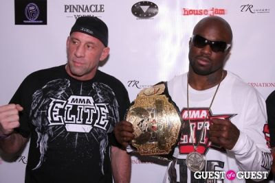 mark coleman in 1st Annual Pre-NFL Draft Charity Affair Hosted by The Pierre Garcon Foundation