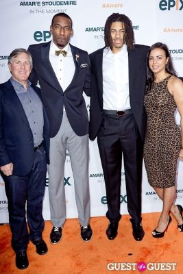 chris copeland in Amar'e Stoudemire In The Moment Premiere