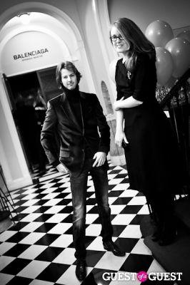 emily bogue in Queen Sophia Spanish Institute Celebrates Balenciaga