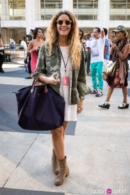 marta ballve in NYFW 2013: Day 4 at Lincoln Center