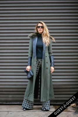martha graeff in NYFW Street Style Day 8