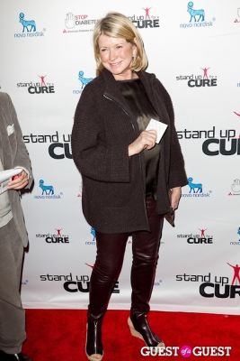 martha stewart in Stand Up for a Cure 2013 with Jerry Seinfeld
