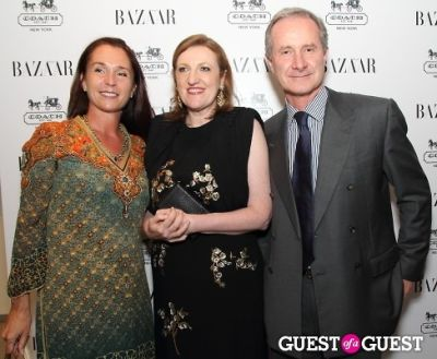 glenda bailey in Harper's Bazaar Greatest Hits Launch Party