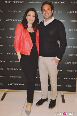 matt bernson in The Launch of the Matt Bernson 2014 Spring Collection at Nordstrom at The Grove