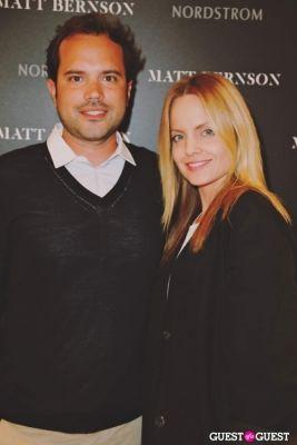 matt bernson-mena-suvari in The Launch of the Matt Bernson 2014 Spring Collection at Nordstrom at The Grove
