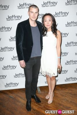 matt gontier in Jeffrey Fashion Cares 11th Annual New York Fundraiser