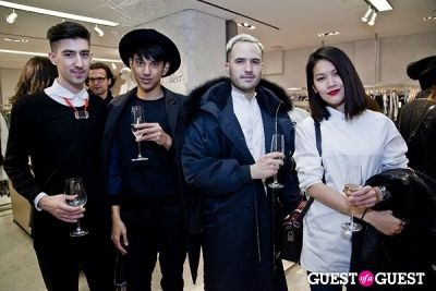 eric fam in BOYY SS14 Launch at Bergdorf's
