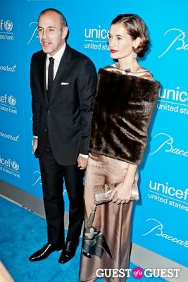 matt lauer in The 8th Annual UNICEF Snowflake Ball