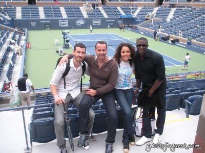 susie castillo in US Open tennis