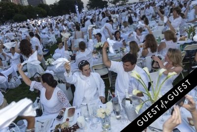 matt lyons in Diner En Blanc NYC 2014