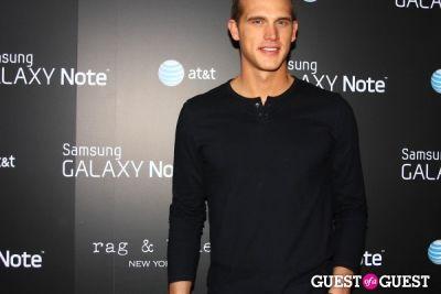 matt nordgren in AT&T, Samsung Galaxy Note, and Rag & Bone Party