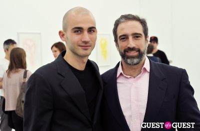 adam greenberger in Mauro Bonacina exhibition opening reception