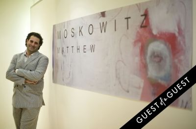 Matthew Moskowitz Pop Up Art Reception