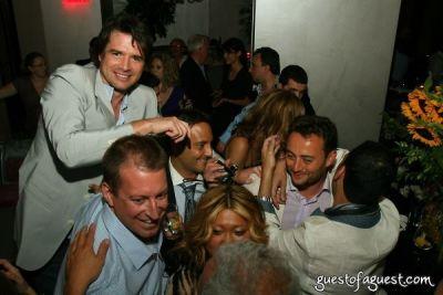 matthew settle in Nancy Schuster Birthday Party at Casa La Femme