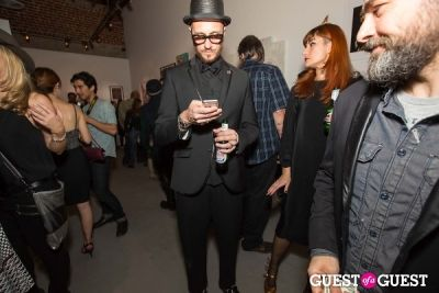 valerj pobega in Cat Art Show Los Angeles Opening Night Party at 101/Exhibit