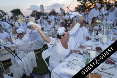 maureen gladstone in Diner En Blanc NYC 2014