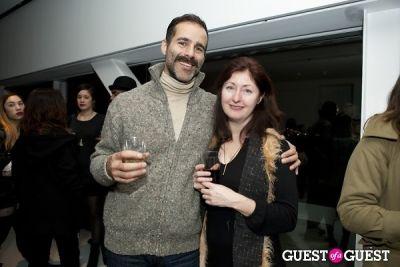 maureen sullivan in New Museum's George Condo Exhibit