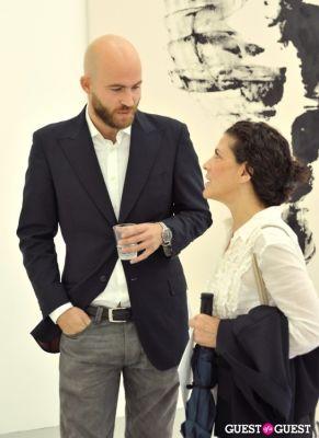 mauro bonacina in Mauro Bonacina exhibition opening reception